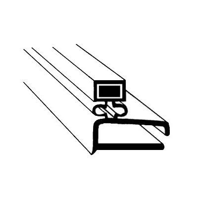 "Franklin Machine 145-1047 Screw-In Gasket for Randell Refrigerators & Prep Tables, 10.75"" x 21.25"""