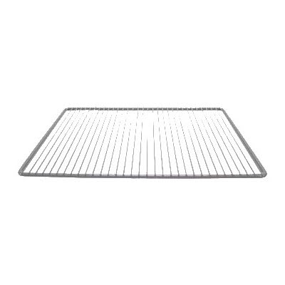 "Franklin Machine 145-1052 Epoxy-Coated Wire Shelf for Randell 9404, 9603, & 9604 Series Refrigerators - 14"" x 22"", Gray"