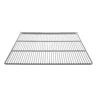 """Franklin Machine 148-1051 Epoxy-Coated Wire Shelf for Refrigerators & Freezers - 23.25"""" x 22.87"""", White"""