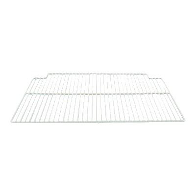 "Franklin Machine 148-1070 Center Epoxy-Coated Wire Shelf for Refrigerators & Prep Tables - 16"" x 23.5"", White"