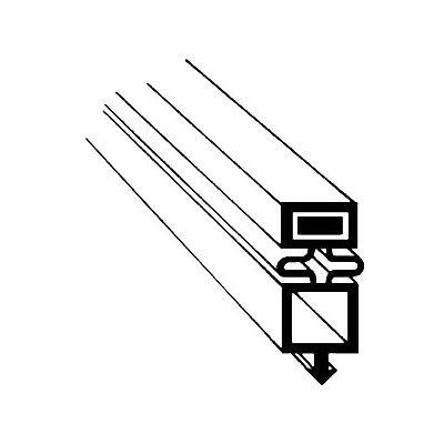 "Franklin Machine 148-1071 Door Gasket for Refrigerated Merchandisers, 22.84"" x 36.1"""