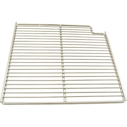 "Franklin Machine 148-1163 Right-Side Wire Shelf for Prep Tables & Mega Tops - 15.56"" x 16"", Stainless"