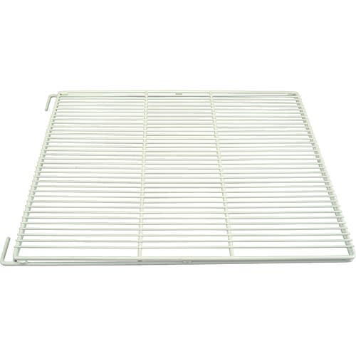 "Franklin Machine 148-1202 Epoxy-Coated Wire Shelf for Refrigerators - 28.68"" x 23.5"", White"