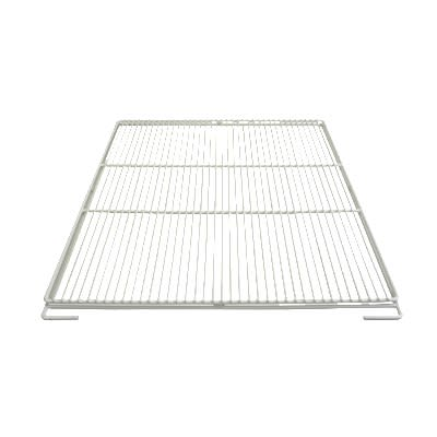 "Franklin Machine 148-1207 Epoxy-Coated Wire Shelf for Refrigerators - 28.75"" x 25"", White"
