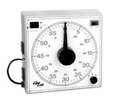 Franklin Machine 151-1041 Precision Timer w/ 60 min Range & Continuous Buzzer, 115v