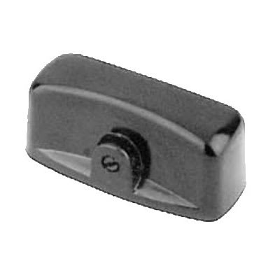 Franklin Machine 158-1004 Gas Valve Handle for Vulcan 77 & SG77 Series - Plastic, Black