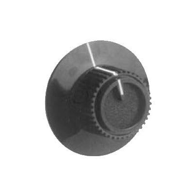 Franklin Machine 170-1153 Knob for Lang Ovens, Ranges, & Griddles - Black