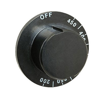 Franklin Machine 173-1153 Thermostat Dial w/ 200° to 450° Range for Wells Griddles - Plastic, Black