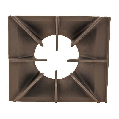 "Franklin Machine 220-1395 Spider Grate for Wolf CH, CHR, & C23 Series Ovens & Ranges - 11.13"" x 12.75"", Cast Iron"