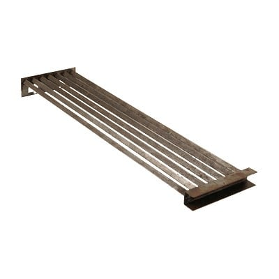 """Franklin Machine 220-1397 Top Broiler Grate for Wolf Charbroilers & Cheesemelters - 5.25"""" x 20.75"""", Stainless Steel"""