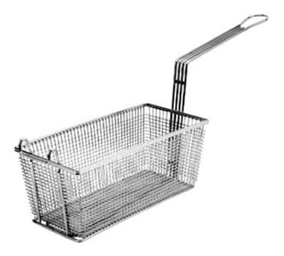 Franklin Machine 225-1000 Half Size Fryer Basket, Nickel Plated