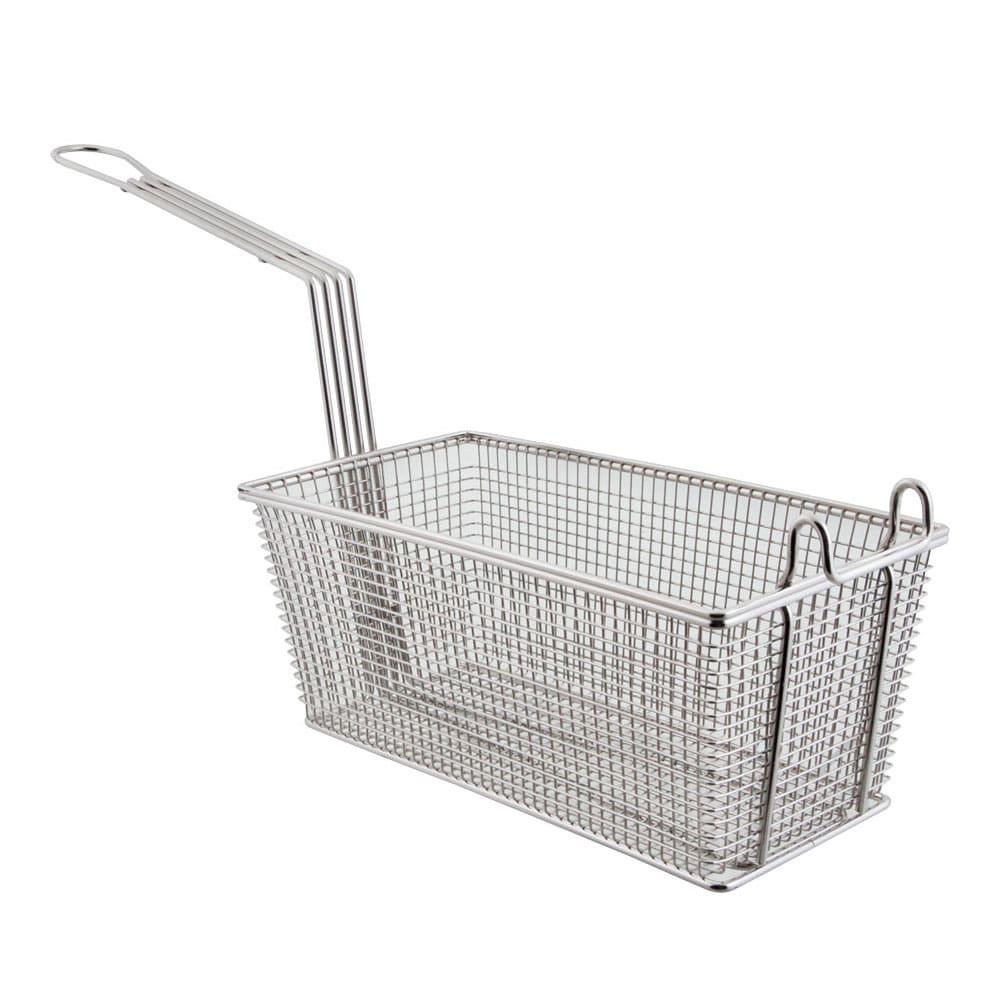Franklin Machine 2251002 Half Size Fryer Basket, Nickel Plated