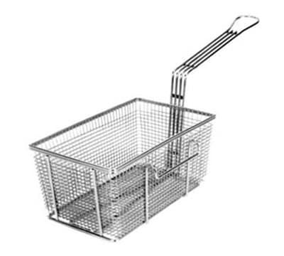 Franklin Machine 225-1014 Half Size Fryer Basket, Nickel Plated
