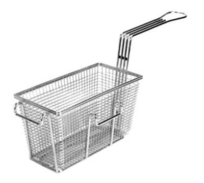 Franklin Machine 225-1018 Half Size Fryer Basket, Nickel Plated