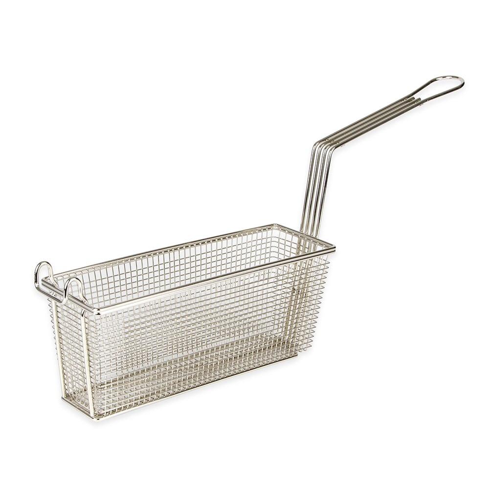 Franklin Machine 2251041 Third Size Fryer Basket, Nickel Plated