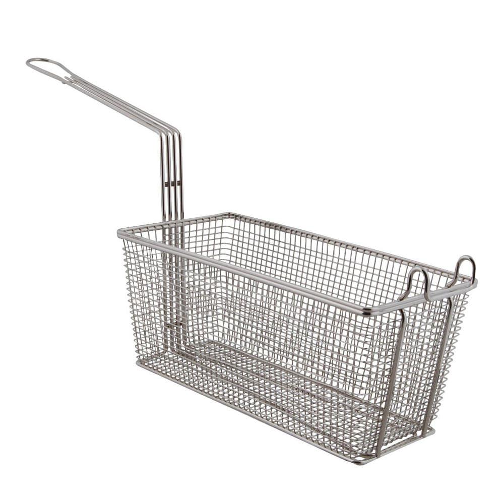 Franklin Machine 225-1060 Half Size Fryer Basket, Nickel Plated