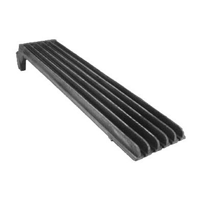 "Franklin Machine 228-1172 Top Broiler Grate for Vulcan & Wolf Charbroilers & Cheesemelters - 5.25"" x 23.25"", Cast Iron"