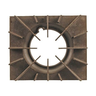 "Franklin Machine 228-1186 Spider Grate for Vulcan GH56 & GHM56 Series Ranges - 13.25"" x 11"", Rough Cast Finish"