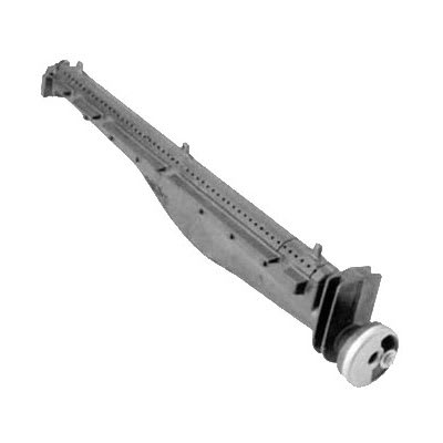 """Franklin Machine 229-1080 Burner Assembly for Garland Charbroilers - 21.25"""" x 2"""", Cast Iron"""