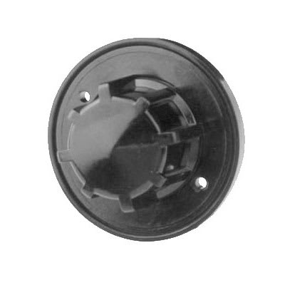 "Franklin Machine 229-1092 2.5"" Universal Dial for Garland Broilers - Plastic, Black"