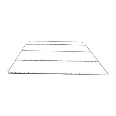"Franklin Machine 235-1060 Epoxy-Coated Wire Shelf for Delfield Refrigerators & Freezers - 21.25"" x 26"", Gray"