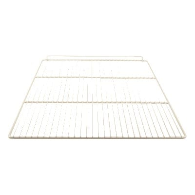 "Franklin Machine 235-1089 Epoxy-Coated Wire Shelf for Delfield Vantage 6000 Series - 22.87"" x 25.25"", White"