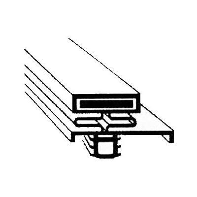 "Franklin Machine 235-1095 Push-In Gasket for Delfield Freezers, 23.25"" x 28.25"""
