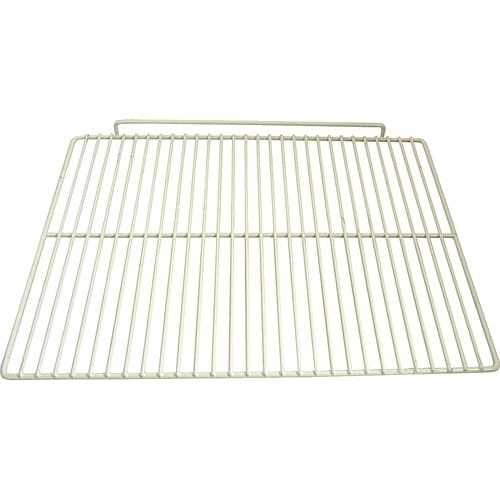 """Franklin Machine 237-1219 Epoxy-Coated Wire Shelf for Beverage Air SPE72, UCR, & WTR72A Models - 16.5"""" x 22"""", White"""