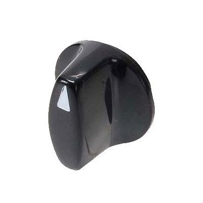 Franklin Machine 256-1103 Temperature Control Knob for Silver King Refrigerators & Freezers - Plastic, Black