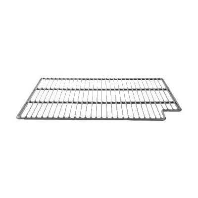 "Franklin Machine 269-1021 Left-Side Epoxy-Coated Wire Shelf for Perlick Refrigerators & Freezers - 21"" x 15.75"", Gray"
