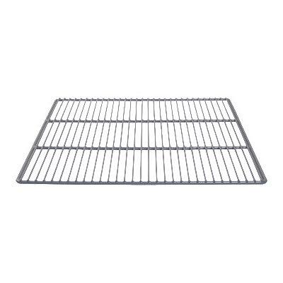 """Franklin Machine 269-1044 Side Epoxy-Coated Wire Shelf for Perlick Refrigerators & Freezers - 18"""" x 21.75"""", Gray"""