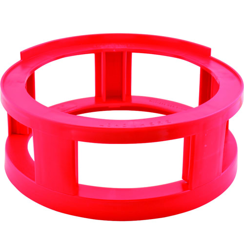 Franklin Machine 280-1970 Keg Spacer for Tri-Tap Barrels, Plastic, Red