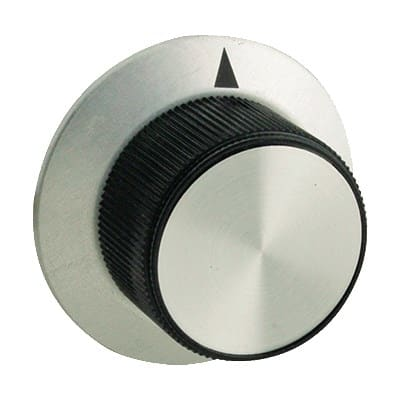 "Franklin Machine 501-1012 1.81"" Arrow Knob for FWE MT-120, MT-1220, MT-1826, MT-220, MT-1633, & MTU - Plastic, Black"