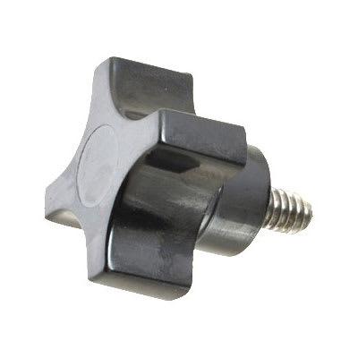 Franklin Machine 520-1010 Male Knob for Oliver 738 Chip Slicer - Plastic, Black
