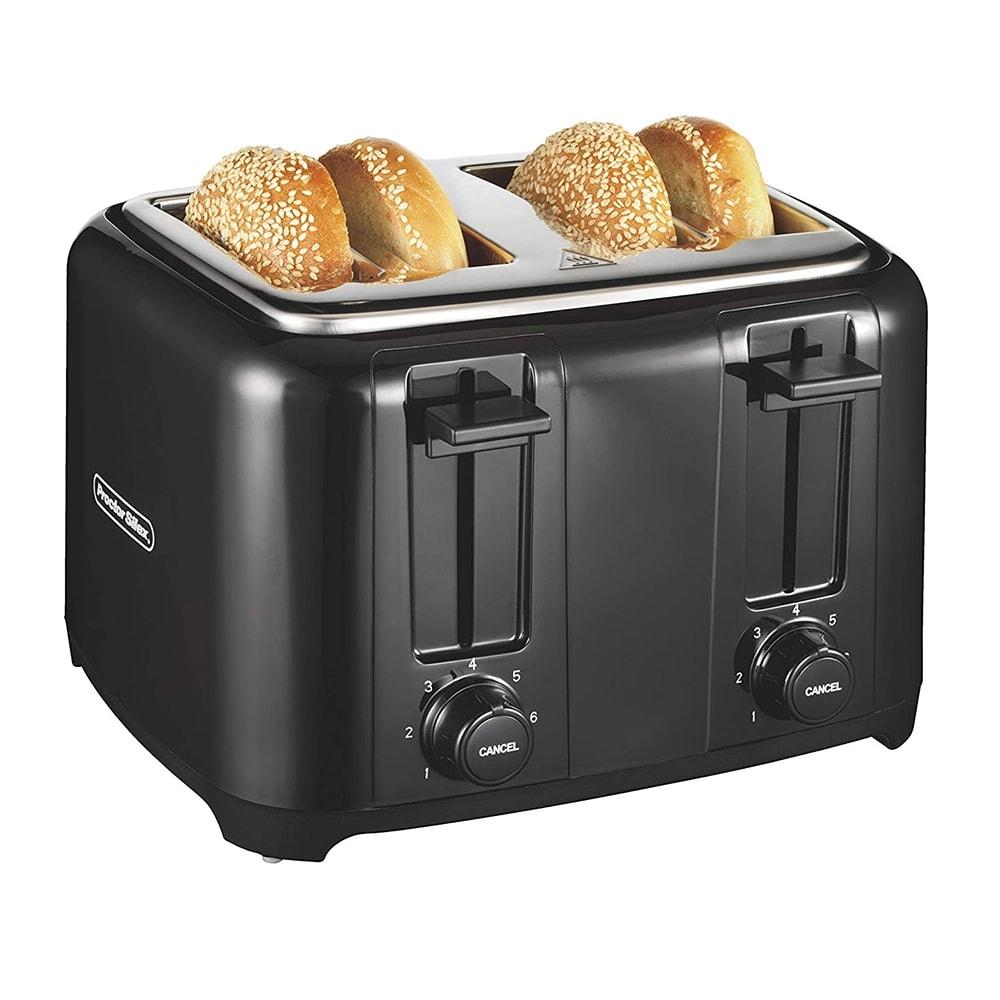 Hamilton Beach 24215 4 Slice Toaster w/ Wide Slots, Black