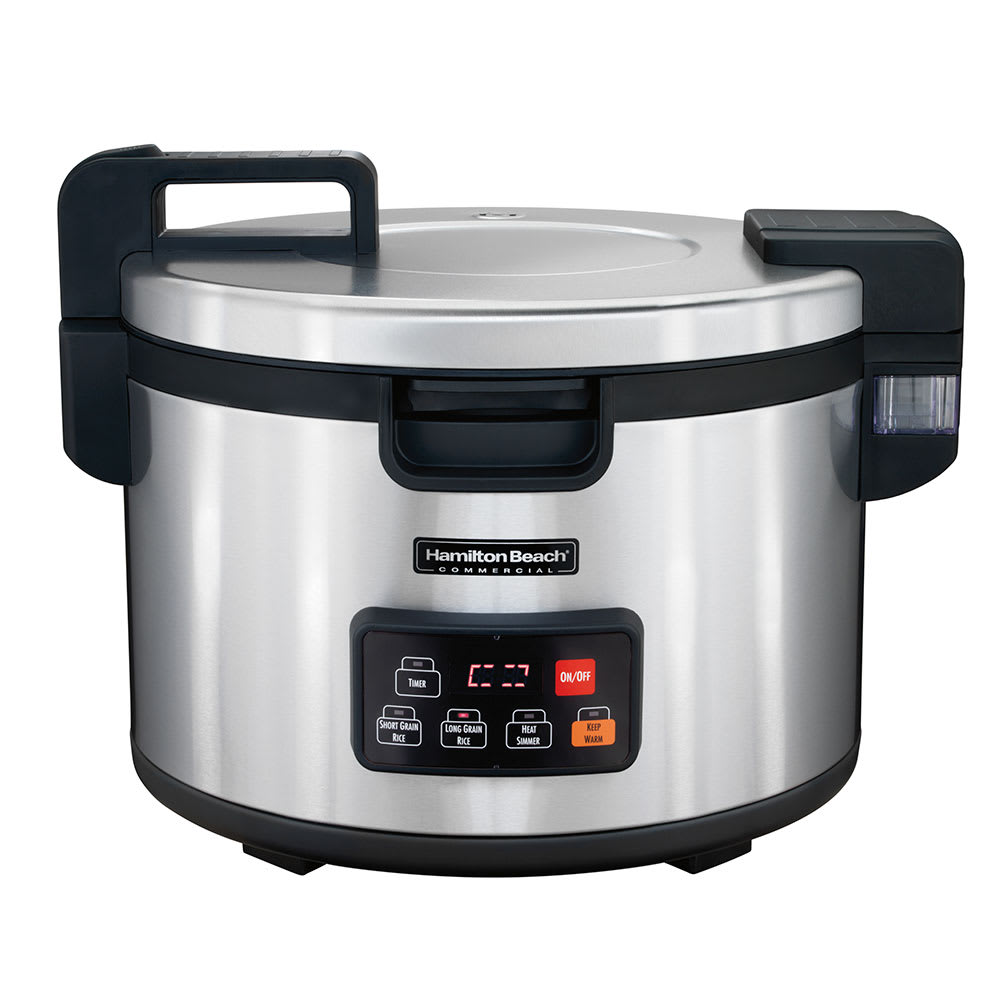 Hamilton Beach 37590 90-Cup Commercial Rice Cooker - Stainless, 240v/1ph