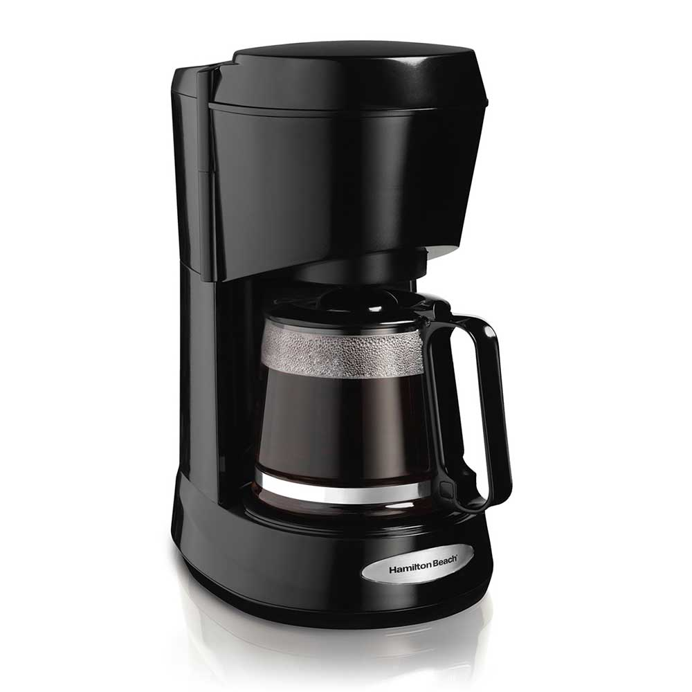 Hamilton Beach 48136 5-Cup Coffee Maker w/ Auto Pause & Serve - Black, 120v
