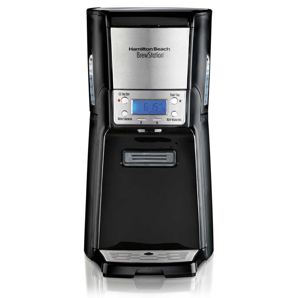 Hamilton Beach 48464 12 Cup BrewStation® Summit Coffee Maker - Black/Stainless, 120v