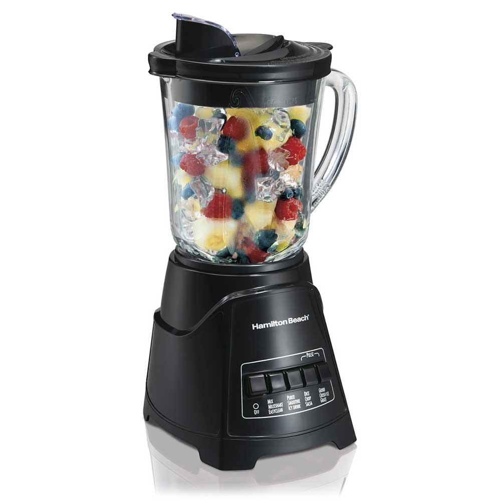 Hamilton Beach 58146 12 Function Blender w/ 40 oz Glass Jar - Black, 120v