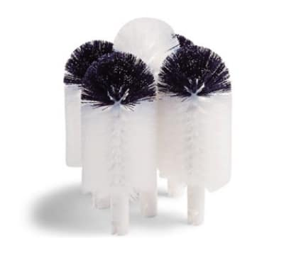 "Hamilton Beach 97040 Replacement Brushes, (4) 6"" Black & White, (1) 8.5"" White"