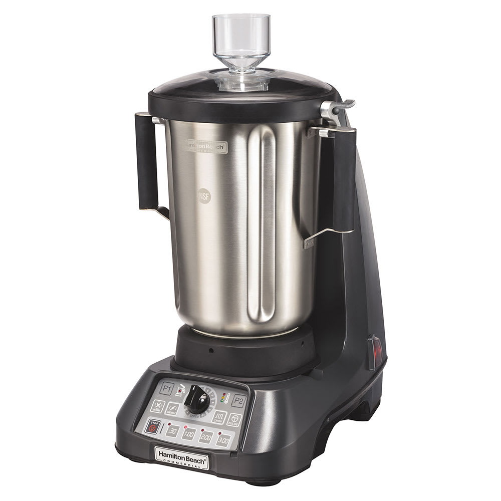 Hamilton Beach HBF1100S Countertop Food Blender w/ Metal Container, Programmable