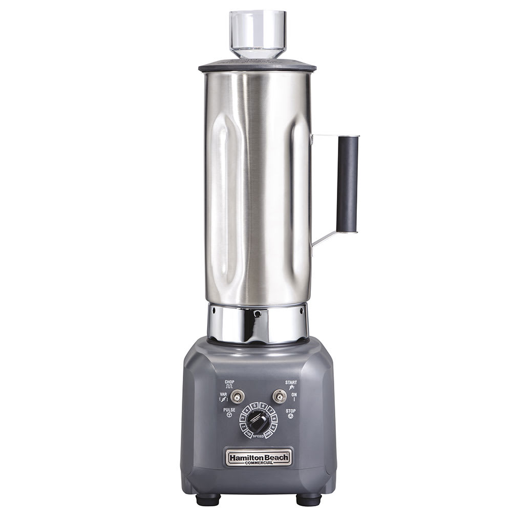 Hamilton Beach HBF500S-CE High Performance Food Blender w/ 1.9-liter Stainless Container, 6.5-amp, Export