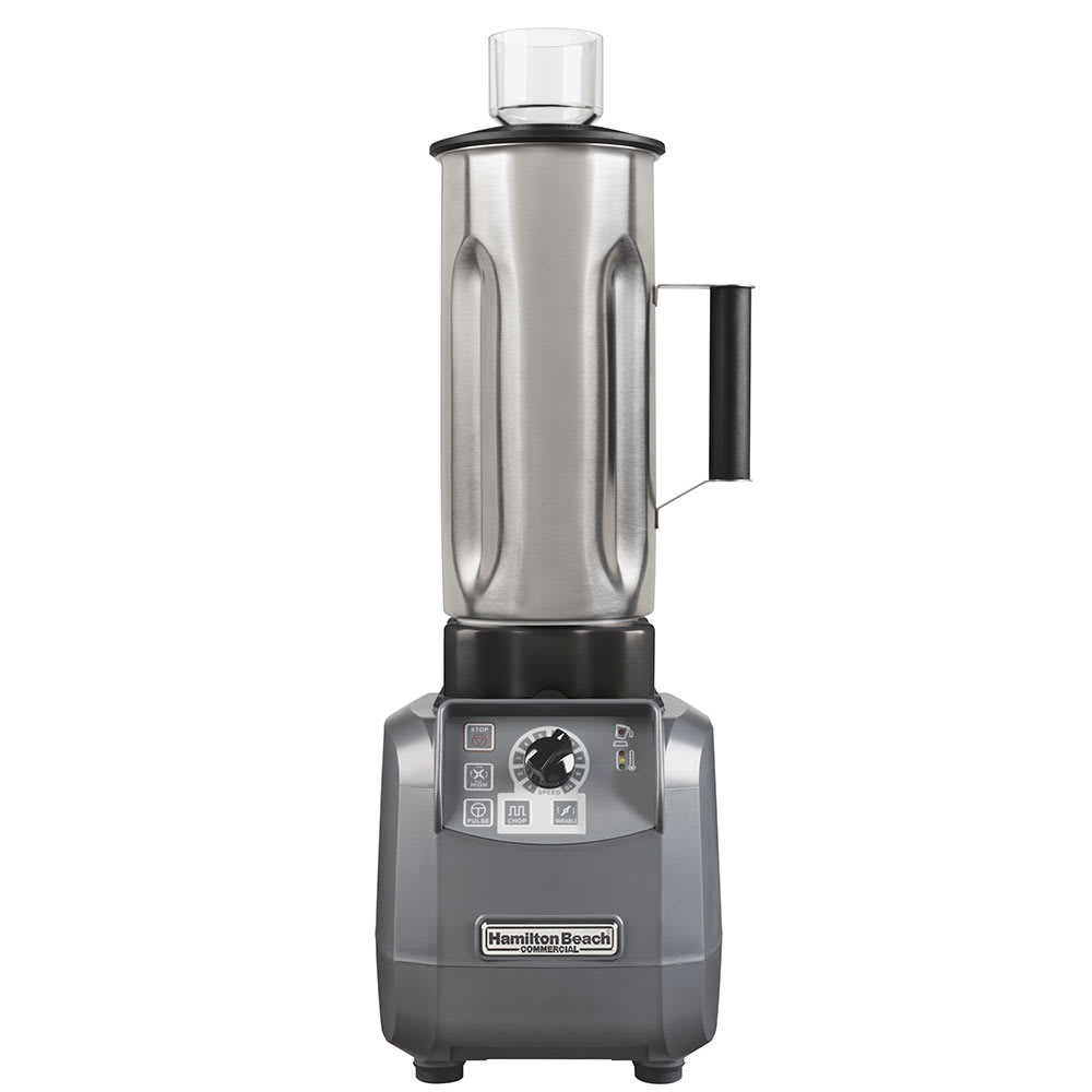Hamilton Beach HBF600S-CE High Performance Food Blender w/ 1.9-liter Stainless Container, 13-amp, Export