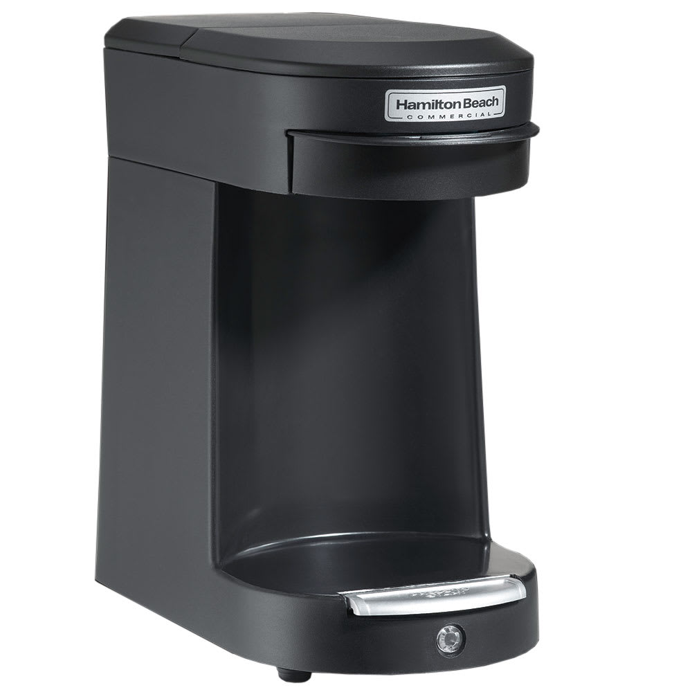 Hamilton Beach HDC200B 1 Cup Pod Coffee Maker - Black, 120v