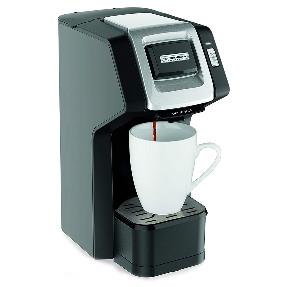 Hamilton Beach HDC311 1 Cup Coffee Brewer for K-Cup® Capsules - Black, 120v