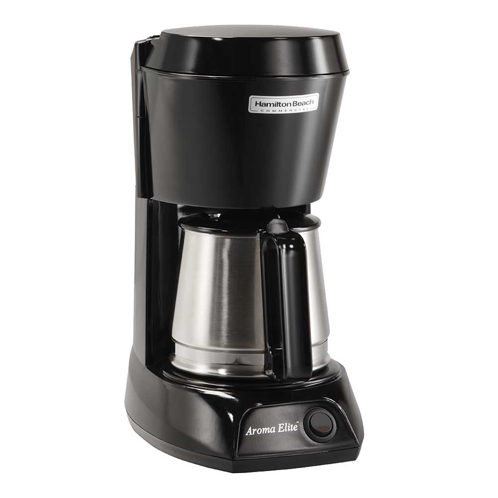 Hamilton Beach HDC500CS 4-Cup Coffee Maker w/ Auto Shut-Off - Black, 120v