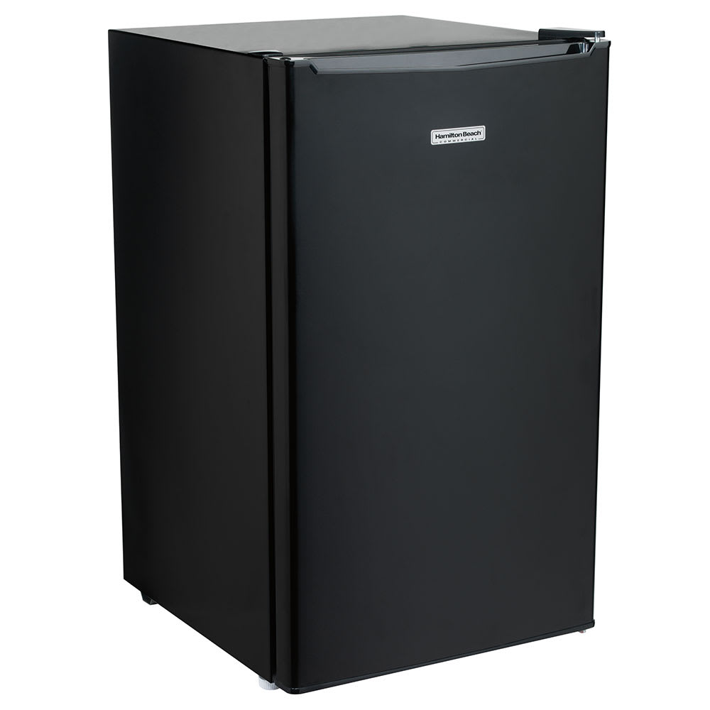Hamilton Beach HRF300 3.5-cu ft Compact Refrigerator w/ (3) Glass Shelves - Black, 120v