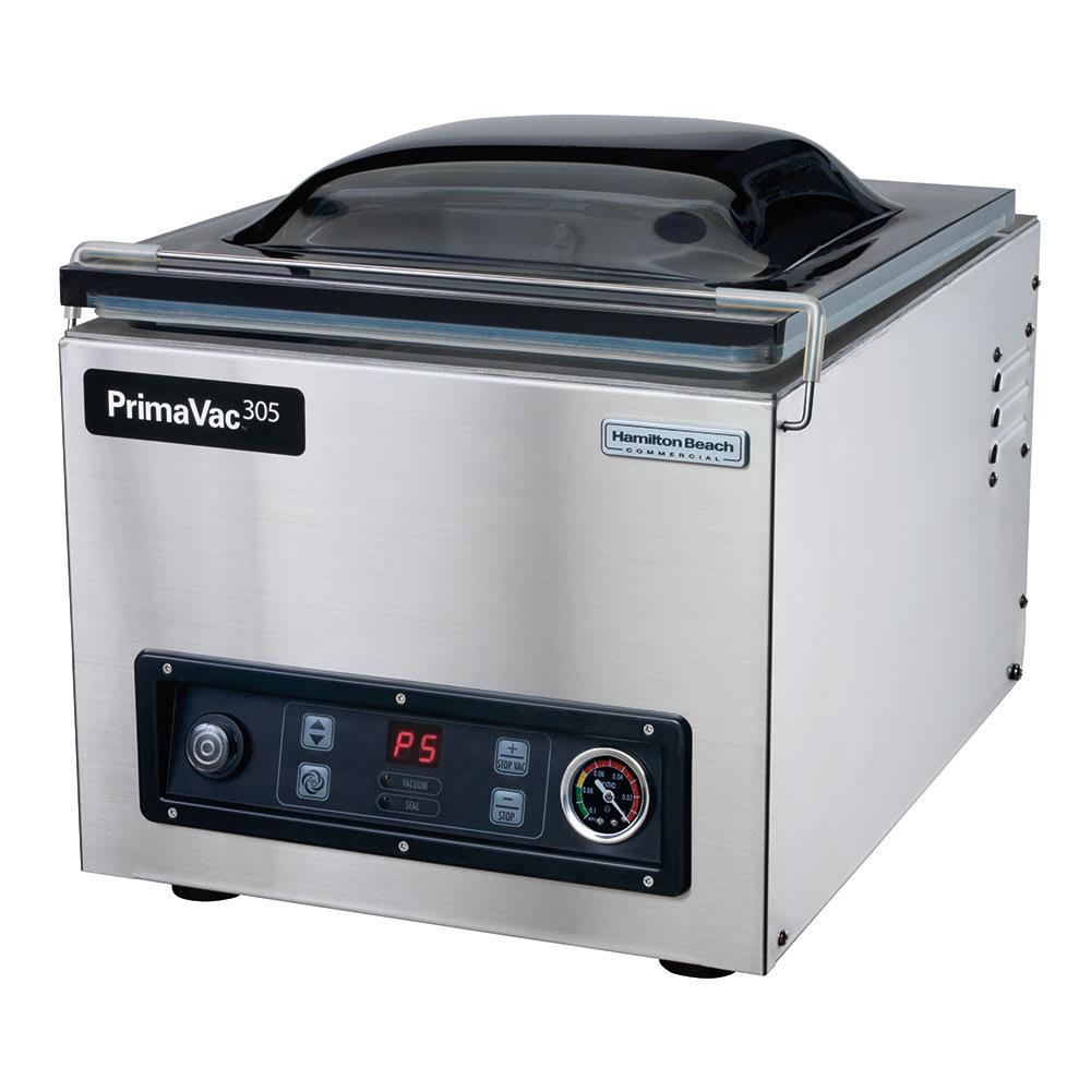 """Hamilton Beach HVC305 Countertop Vacuum Packaging Machine w/ 12"""" Seal Bar, 120v"""