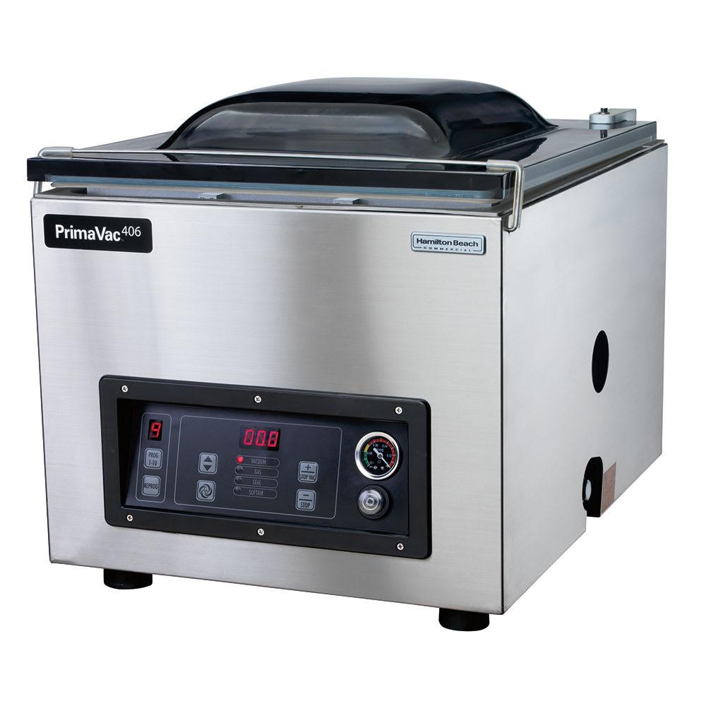 """Hamilton Beach HVC406 Countertop Vacuum Packaging Machine w/ 16"""" Seal Bar, 120v"""