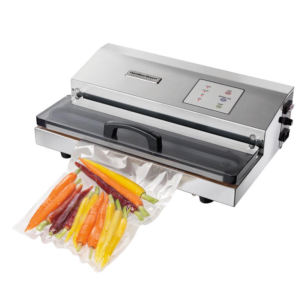"""Hamilton Beach HVS400 Countertop Vacuum Packaging Machine w/ 16"""" Seal Bar, 120v"""